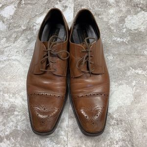 TO BOOT NEW YORK Brown Leather Oxford Shoes 10.5